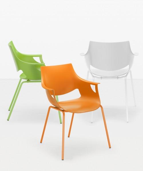 Stuhl Fano Design Kunststoffstuhl Nowy Styl