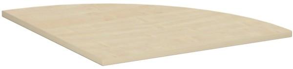 Verkettungsplatte 90° - Viertelkreis Serie 4 Fuß Flex inkl. Verkettungskit 80 x 80 cm Geramöbel