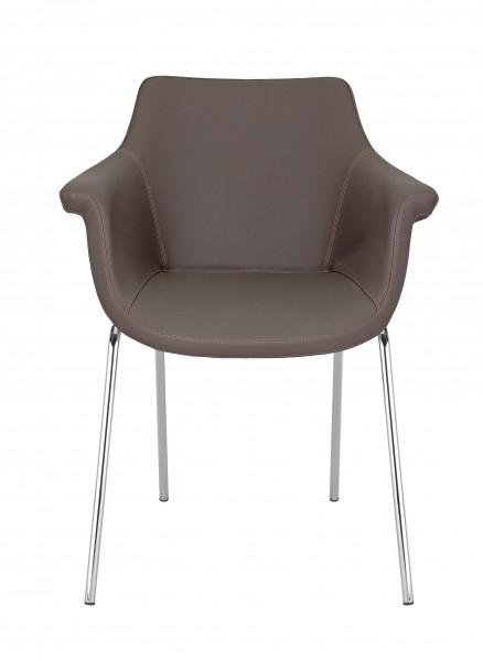 Kaika 4-Bein Konferenzstuhl mit Armlehnen Design Nowy Styl