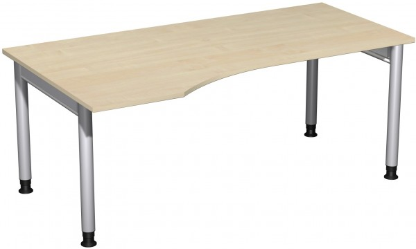 PC-Schreibtisch LI Serie 4 Fuß Pro 180x100x68-82 cm Geramöbel