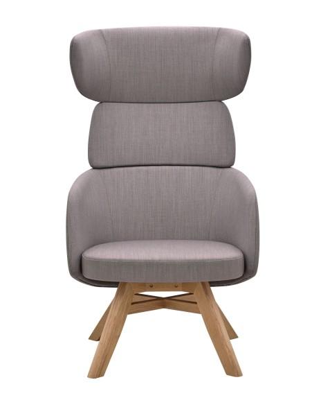 RIM Winx Lounge Sessel mit Holz