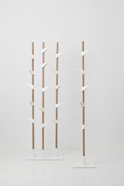 Cascando Design Garderobenständer Bamboo 1
