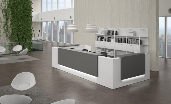 Officity Z2 Design Theke U-Form
