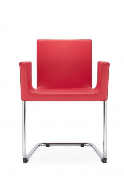 Victoria Freischwinger Konferenzstuhl mit Armlehnen Design Nowy Styl