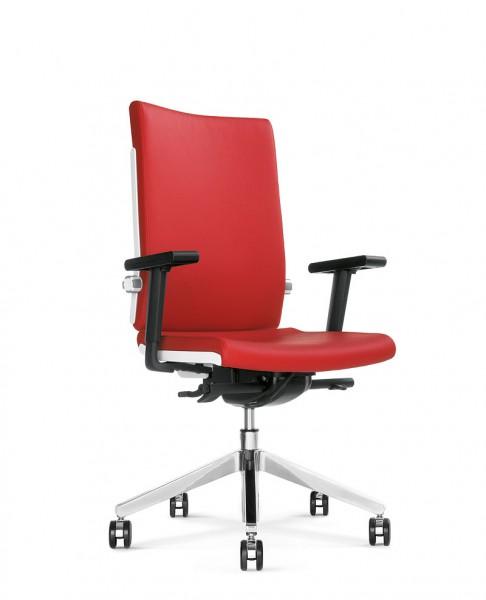 Belite 2213 Bürodrehstuhl mit hoher Rückenlehne u. höhenverstellbaren Armlehnen Design bn OFFICE SOL