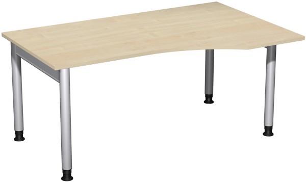PC-Schreibtisch RE Serie 4 Fuß Pro 160x100x68-82 cm Geramöbel