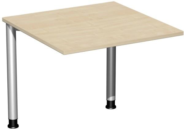 Schreibtisch höhenverstellbar Serie 4 Fuß Flex 80 x 80 x 68-80 cm Geramöbel
