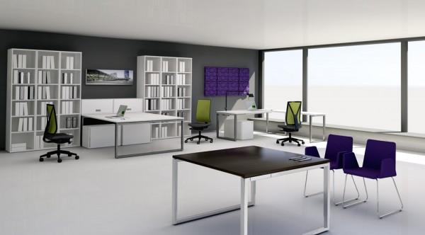 Schreibtisch ceka Aleo 4 Fuß Konferenztisch