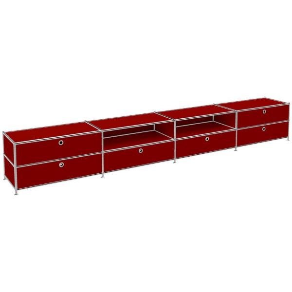 Sideboard Viasit System 4 Maße (BxTxH): 302,9 x 40,4 x 43,2 cm