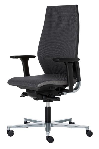 Rovo Chair R12 6060 Ergo Balance mit Ergo balancePlus Fußkreuz Alu poliert