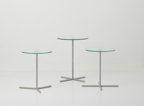Cascando Design Beistelltisch XL table - Höhe 50 cm Ø 40 cm