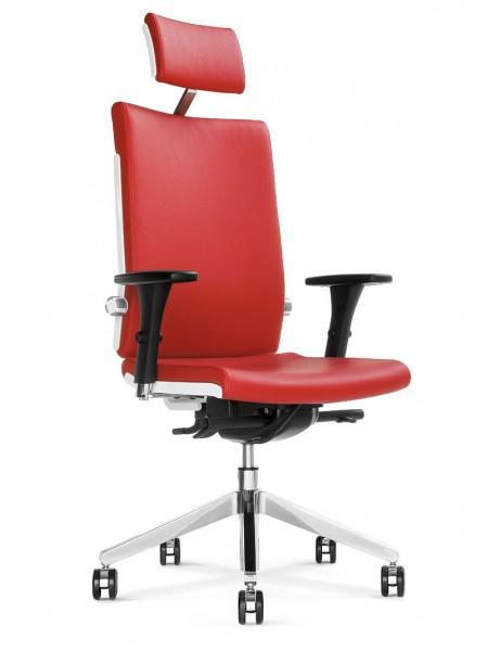 Belite 3213 Bürodrehstuhl mit Armlehnen und Kopfstütze, hoher Rücken Design bn OFFICE SOLUTION