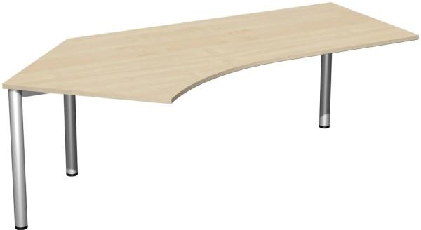 Schreibtisch 135° links Serie 4 Fuß Flex 113 x 72 x 216,6 cm Geramöbel