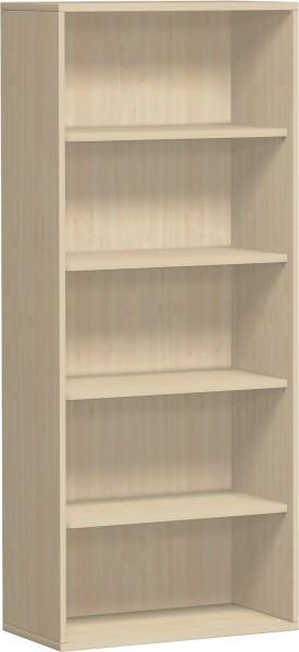 Regal Flex 5 Ordnerhöhen 80 x 40 x 180,8 cm mit Justierfüßen Geramöbel