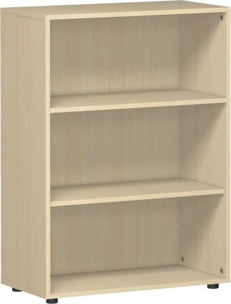 Regal Flex 3 Ordnerhöhen 80 x 40 x 110,4 cm mit Justierfüßen Geramöbel