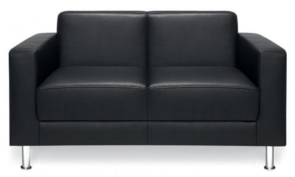 Trend office Design Couch Egbert 2-sitzer aus Echtleder