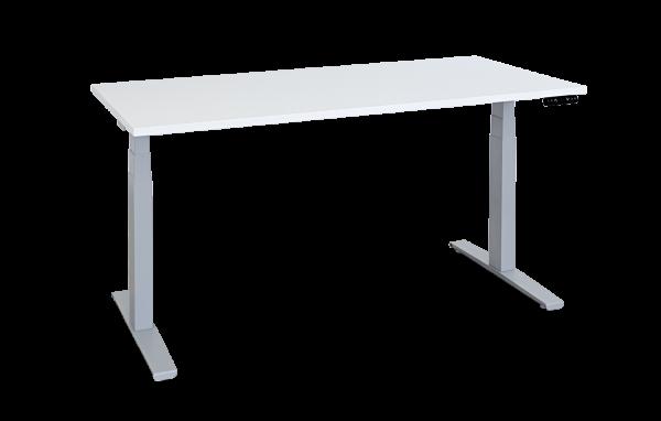 Elektroverstellbarer Schreibtisch, Gestell breitenverstellbar von 120-194cm, mit/ohne Tischplatte