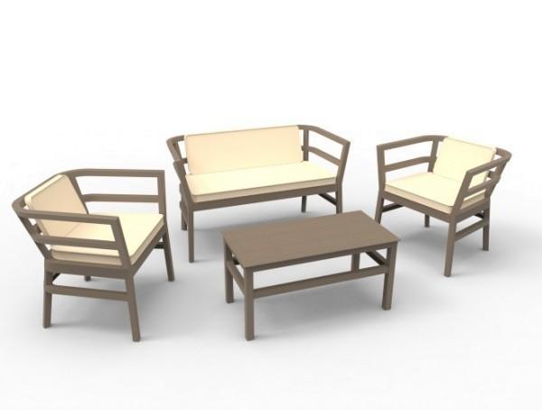 CLICK CLACK Lounge-Sitzgruppe