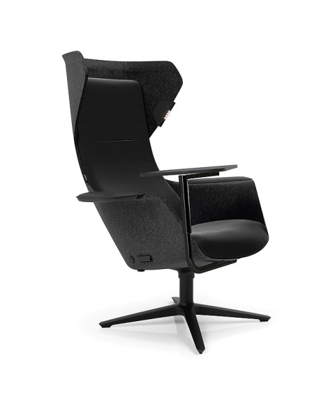Klöber Wooom (woo75) Lounge-Sessel, optional mit Heizung & Massagefunktion, konfigurierbar