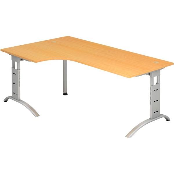 Schreibtisch Savona L-Form Maße (BxT): 200,0 x 80,0/120,0 cm