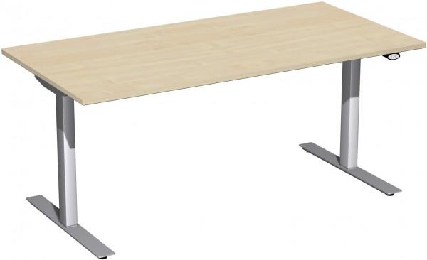 Schreibtisch Elektro Flex elektrisch höhenverstellbar 160x80x68-116 cm