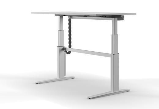 Höhenverstellbarer Schreibtisch Ceka VitalFormX