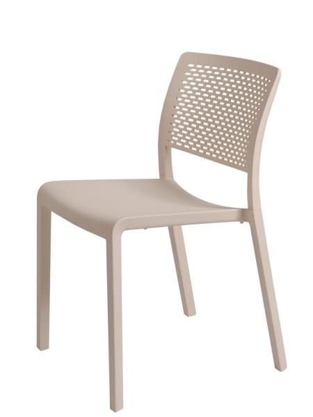Stapelstuhl Trama Design Stuhl Vilagrasa